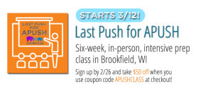 Last Push for APUSH Prep Course by Stampede Learning Systems