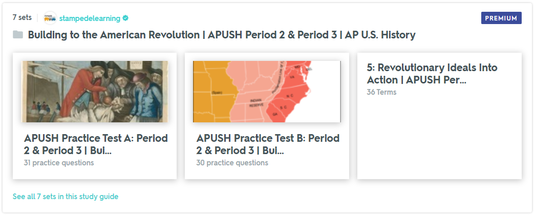 APUSH Period 2 Period 3 Flashcards & Practice Tests on Quizlet by Stampede Learning Systems