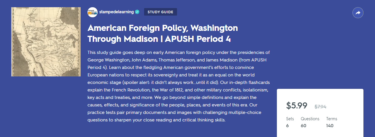 APUSH Period 4 Flashcards & Practice Tests on Quizlet by Stampede Learning Systems